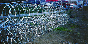 Products Ripper Razor Wire Wall Spikes Barbed Wire